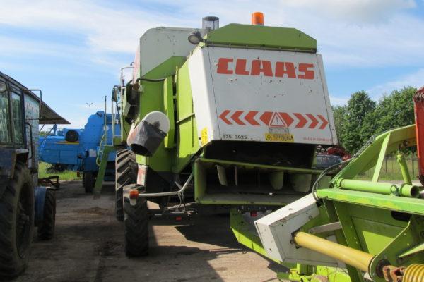 комбайн Claas mega 204